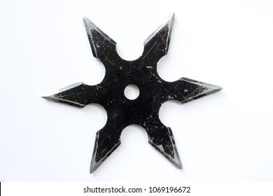shuriken isolated on white background
