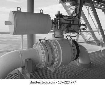Shut down valve,On-off valve,Offshore.