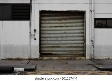 Shutter door still inside the factory security & Factory Gate Images Stock Photos \u0026 Vectors | Shutterstock