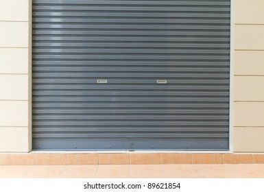 shutter steel door - home security