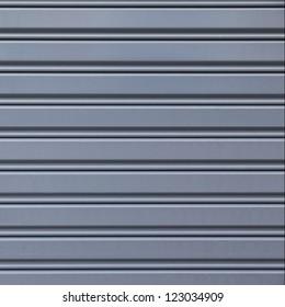 Shutter steel door texture