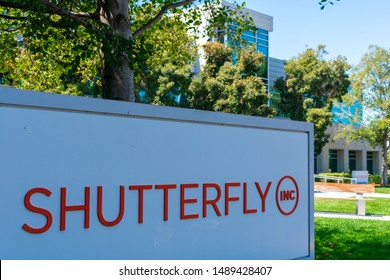 Shutterfly headquarters in Silicon Valley, high-tech hub of San Francisco Bay Area - Redwood City, California, USA - Circa, 2019