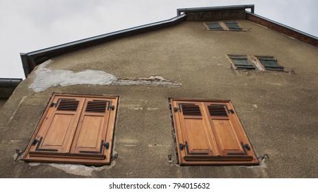 Shutters in Alsace