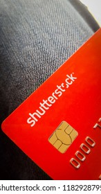 Shutterstock Branded Payoneer Mastercard