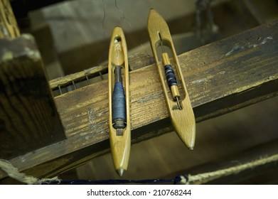 The Shuttle Of Kasuri Textile