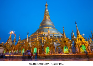 Shwedagon The Golden Pagoda , Myanmar