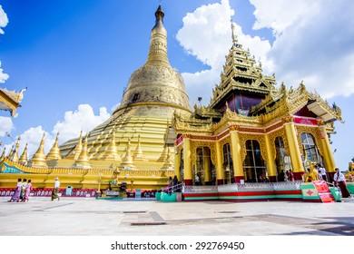 Shwemawdaw Paya, The Golden God Temple , Bago Myanmar