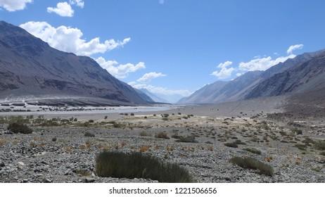 Shyok Valley of Ladakh