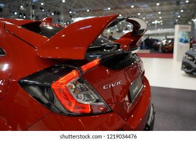 SIAB 2018 Bucharest /Romania  HONDA Civic Type R  CIVIC TypeR