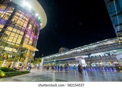 Siam Paragon, The Biggest Fashion Department Store in Bangkok on Valentine Day. Feb 14, 2017.