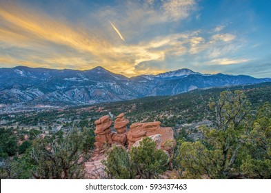 Siamese Twins, Pikes Peak, Colorado Springs