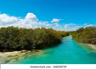 Sian Ka'an Biosphere Reserve Mexico