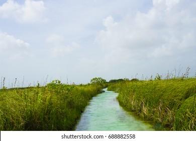 Sian Ka'an Biosphere Reserve UNESCO Site - Tulum, Mexico, Quintana Roo