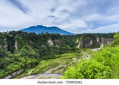 Sianok valley of Bukittinggi, West Sumatera, Indonesia