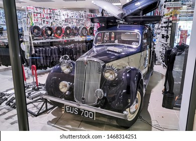 Siauliai/Lithuania July 27, 2019 The Rover 12 was a name given to several medium-sized family cars from the British Rover car company between 1905 and 1948.