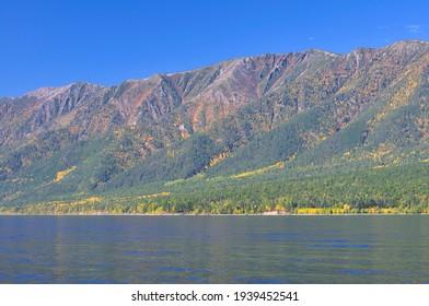 Siberia, Lake Baikal, Svyatoy Nos peninsula - Shutterstock ID 1939452541