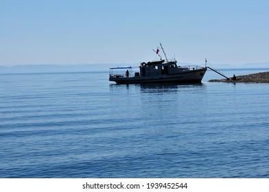 Siberia, Lake Baikal, Svyatoy Nos peninsula - Shutterstock ID 1939452544