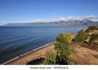 Siberia, Lake Baikal, Svyatoy Nos peninsula - Shutterstock ID 1939452616