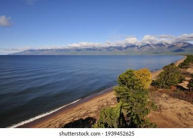 Siberia, Lake Baikal, Svyatoy Nos peninsula - Shutterstock ID 1939452625