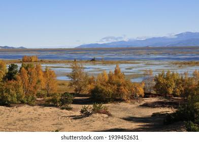Siberia, Lake Baikal, Svyatoy Nos peninsula - Shutterstock ID 1939452631