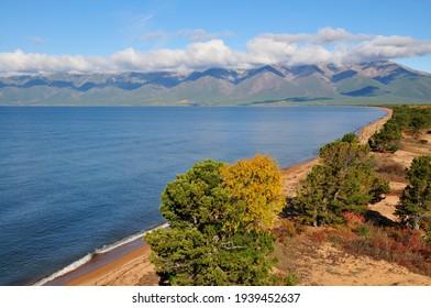 Siberia, Lake Baikal, Svyatoy Nos peninsula - Shutterstock ID 1939452637