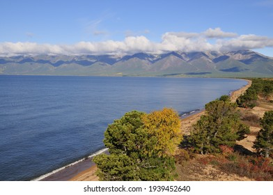 Siberia, Lake Baikal, Svyatoy Nos peninsula - Shutterstock ID 1939452640