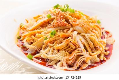 Sichuan cuisine, spicy beef tripe