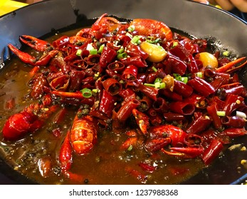 SICHUAN MA LA SPICY CRAWFISH RECIPE, the one of popular food in China