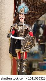 Sicilian Puppet. Closeup