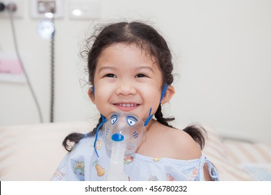 Sick children in hospital