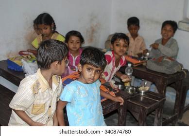 Sick Indian child - NEW DELHI; INDIA - MAY 12; 2015