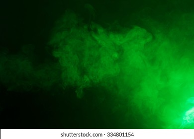 Sickly green colored fog texture.