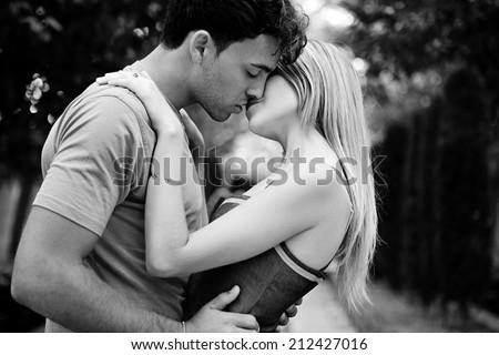 Black white romance
