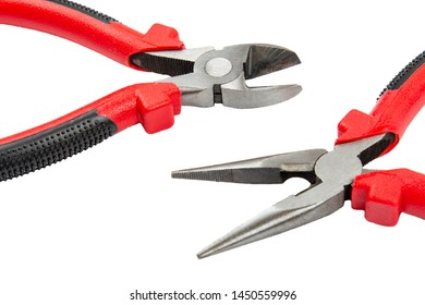 Side Cutting Pliers Images, Stock Photos & Vectors