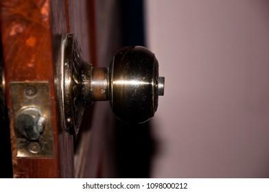 Side of door handle - Shutterstock ID 1098000212
