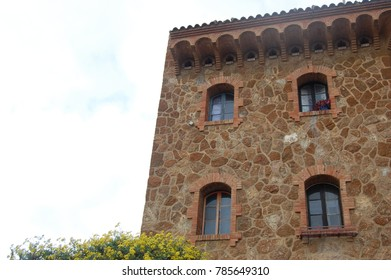Side of old tradition Spanish Manor house