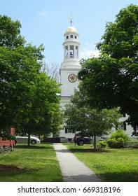 Side Street in Downtown Concord, Massachusetts