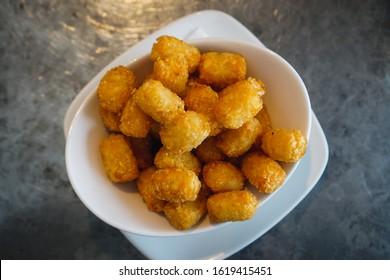 A side of tater tots.