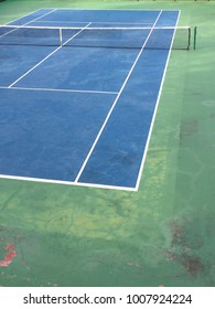 SIDE OF TENNIS COURT