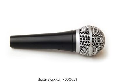 side view of a mic