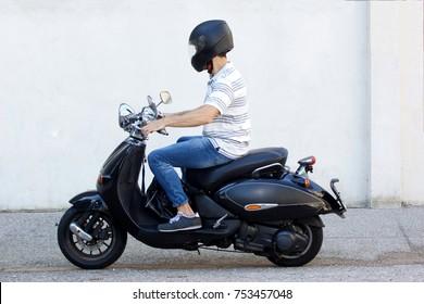 scooter images, stock photos & vectors | shutterstock
