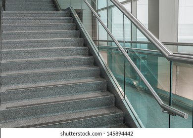 Side view of stairs
