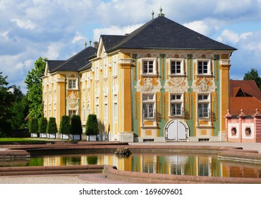 Side wing of the palace of Bruchsal