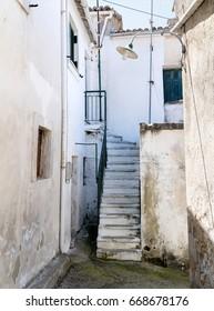 Sidestreet in Rachtades village- Corfu