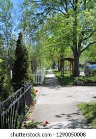 Sidewalk Missoula, Montana