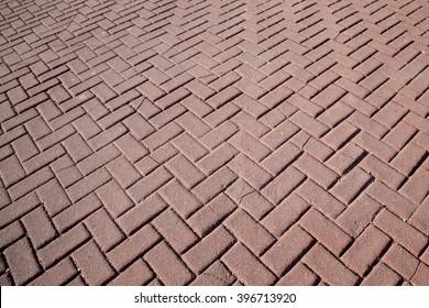 side-walk zigzag blocks texture