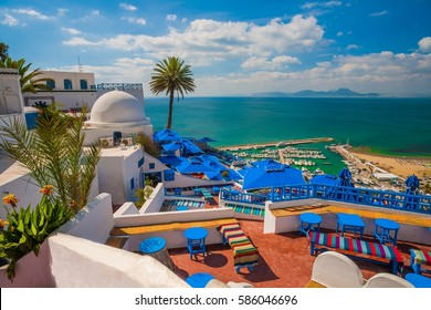 sidi bou said . town of artists and poets .