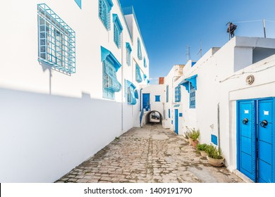 Sidi Bou Said is a town in northern Tunisia located about 20 km from the capital, Tunis.