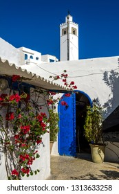 Sidi Bou Said. Tunisia. 08/12/2017. Sidi Bou Said