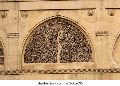 sidi saiyyed mosque photos, world heritage city-ahmedabad, india